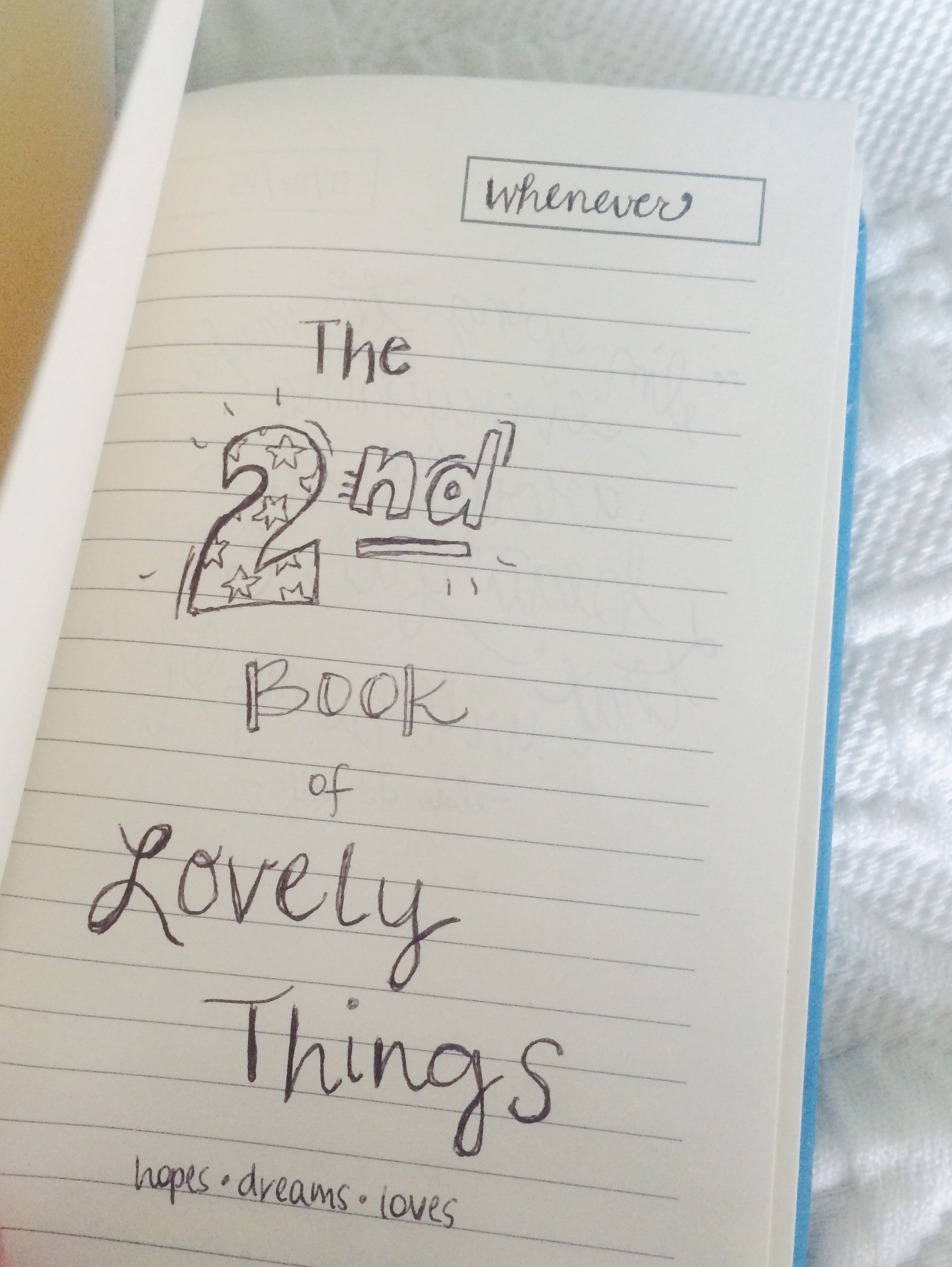 The 2nd Book of Lovely Things