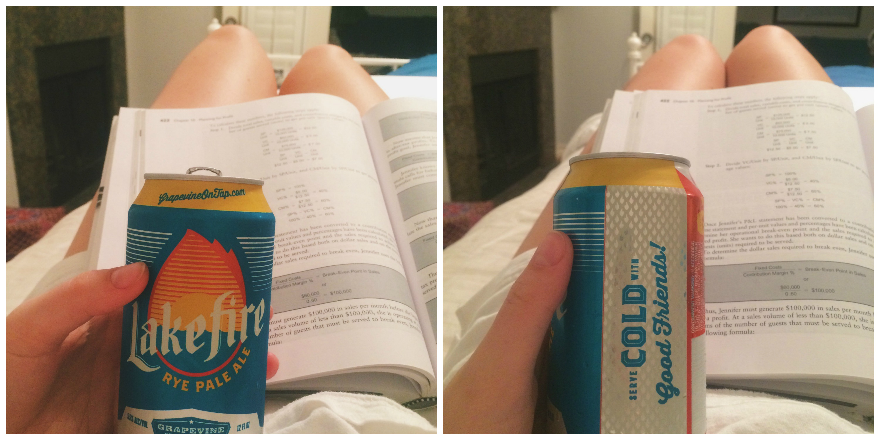 Beer + Studying