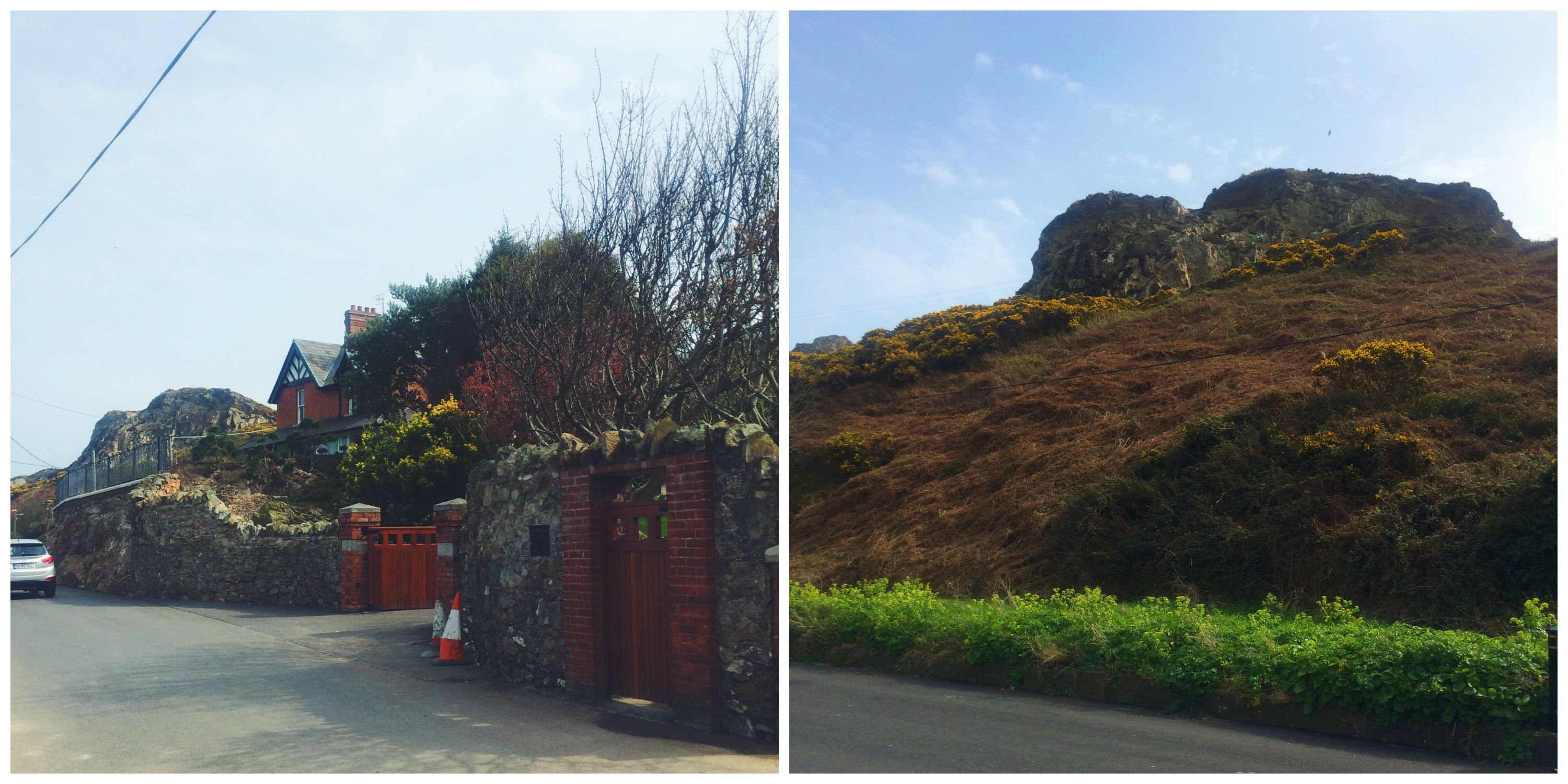 Houses in Howth