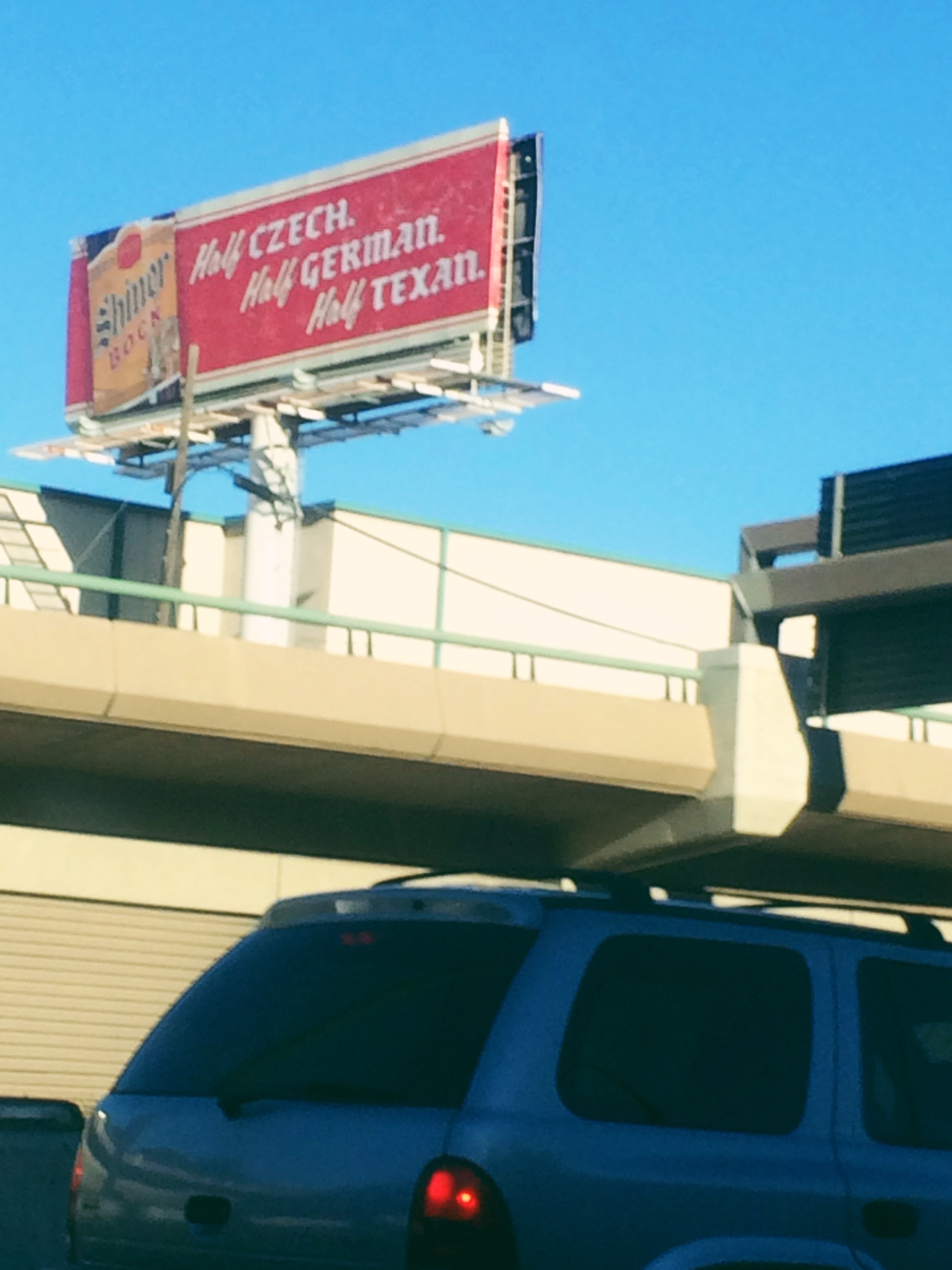 Shiner Billboard
