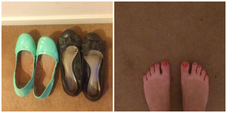 Shoes + A Foot Tan