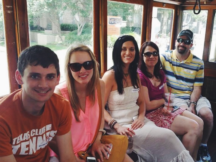 Riding the Trolley
