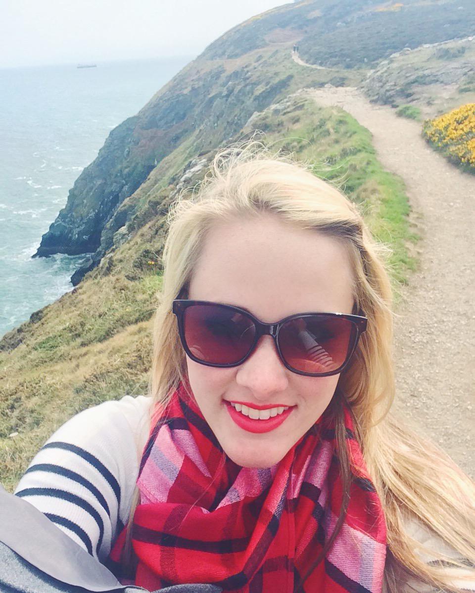 Selfie in Ireland