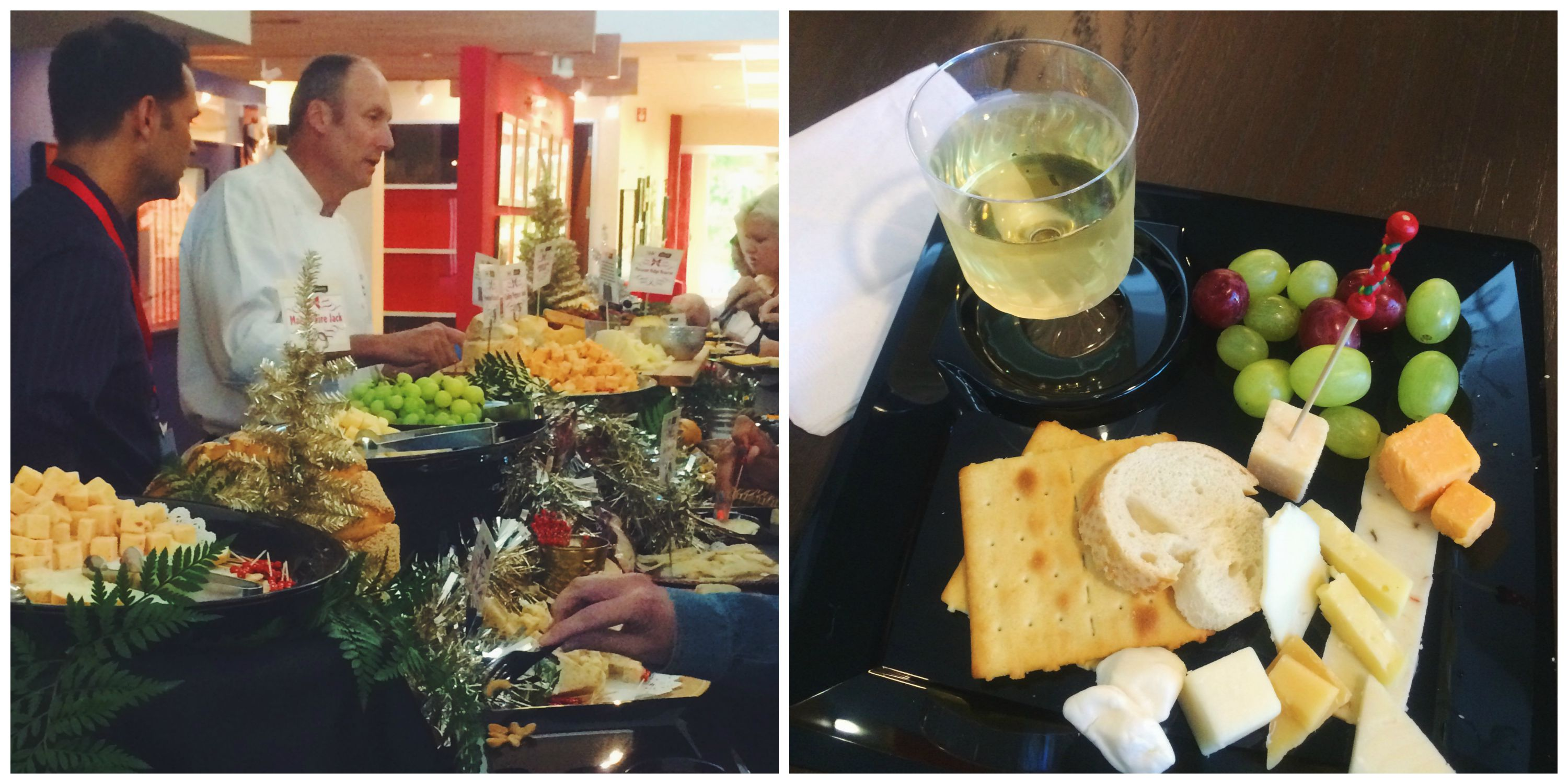 Christmas in July Wine & Cheese Party