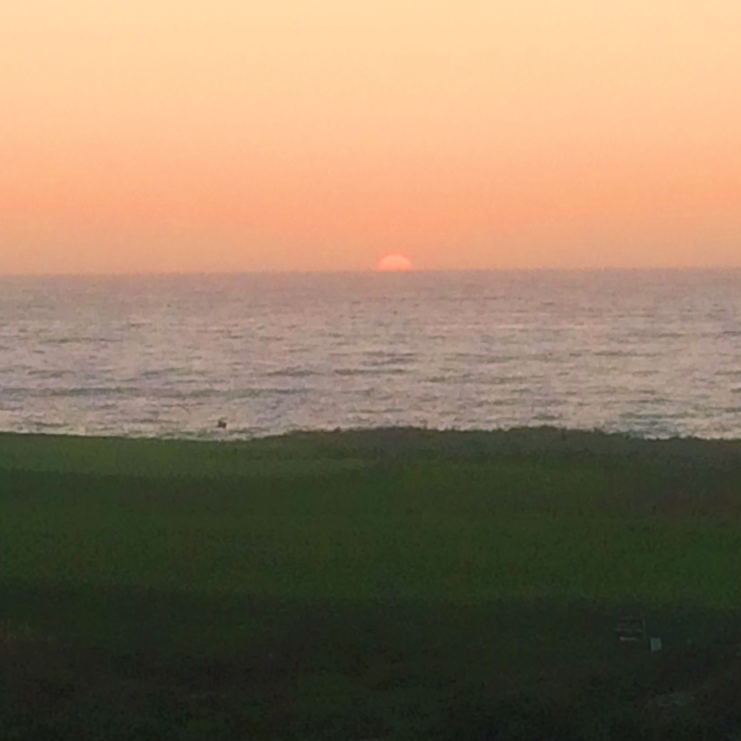 Sunset at Pebble Beach