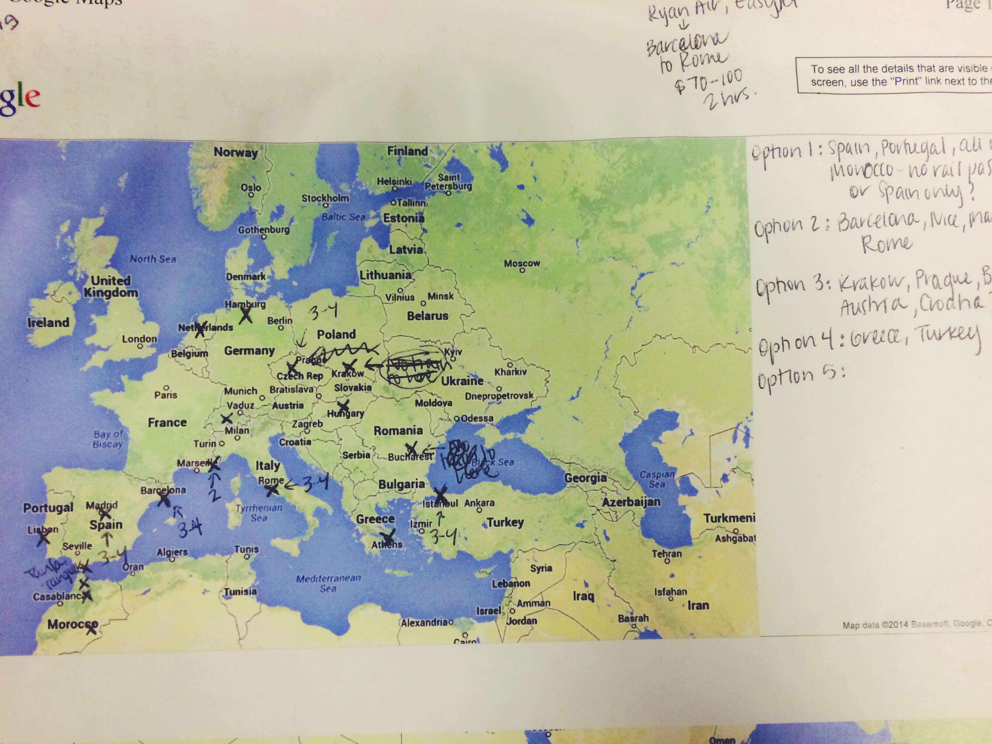 Backpacking Europe Planning Your Route