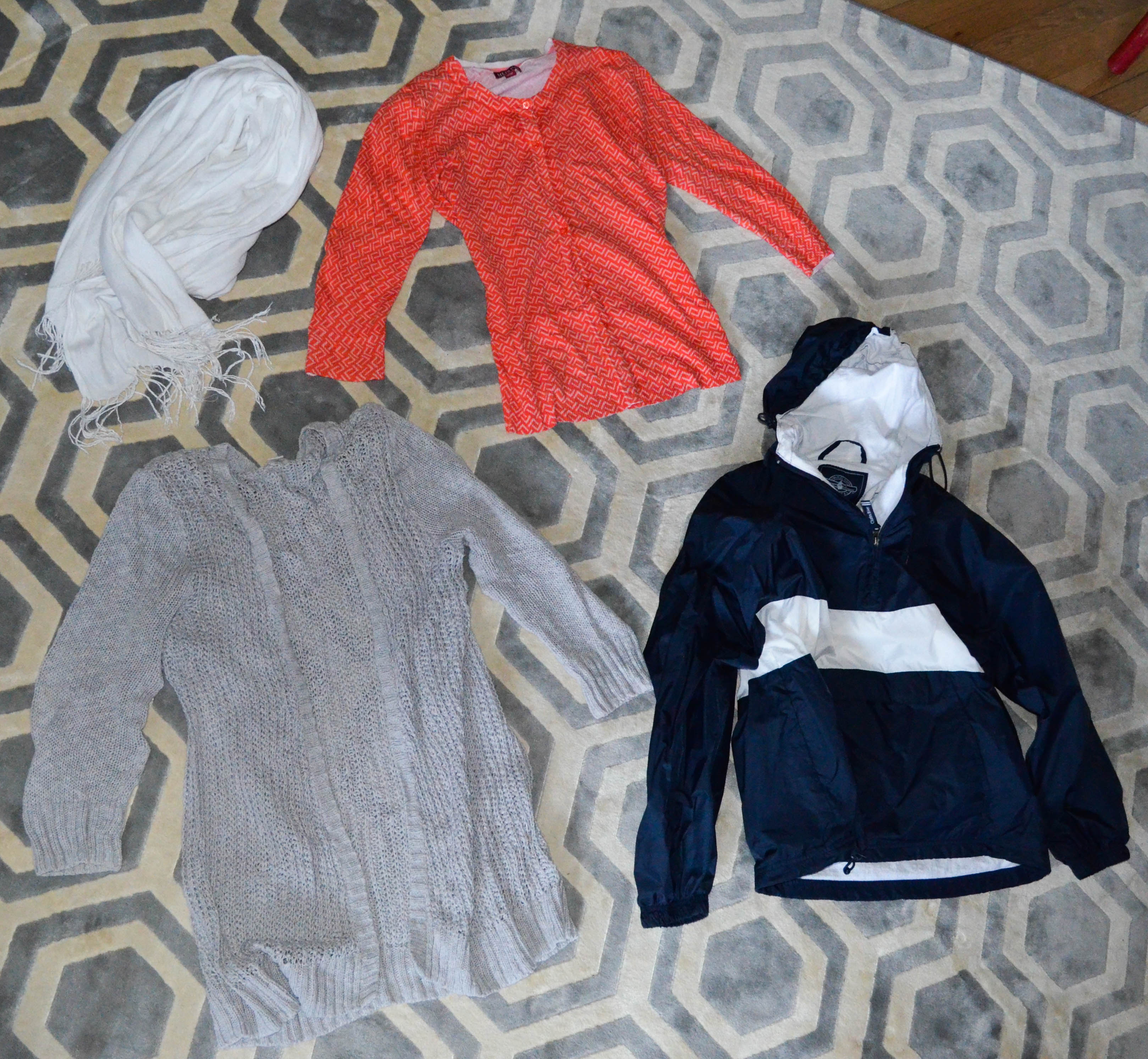 What I Packed: Layers