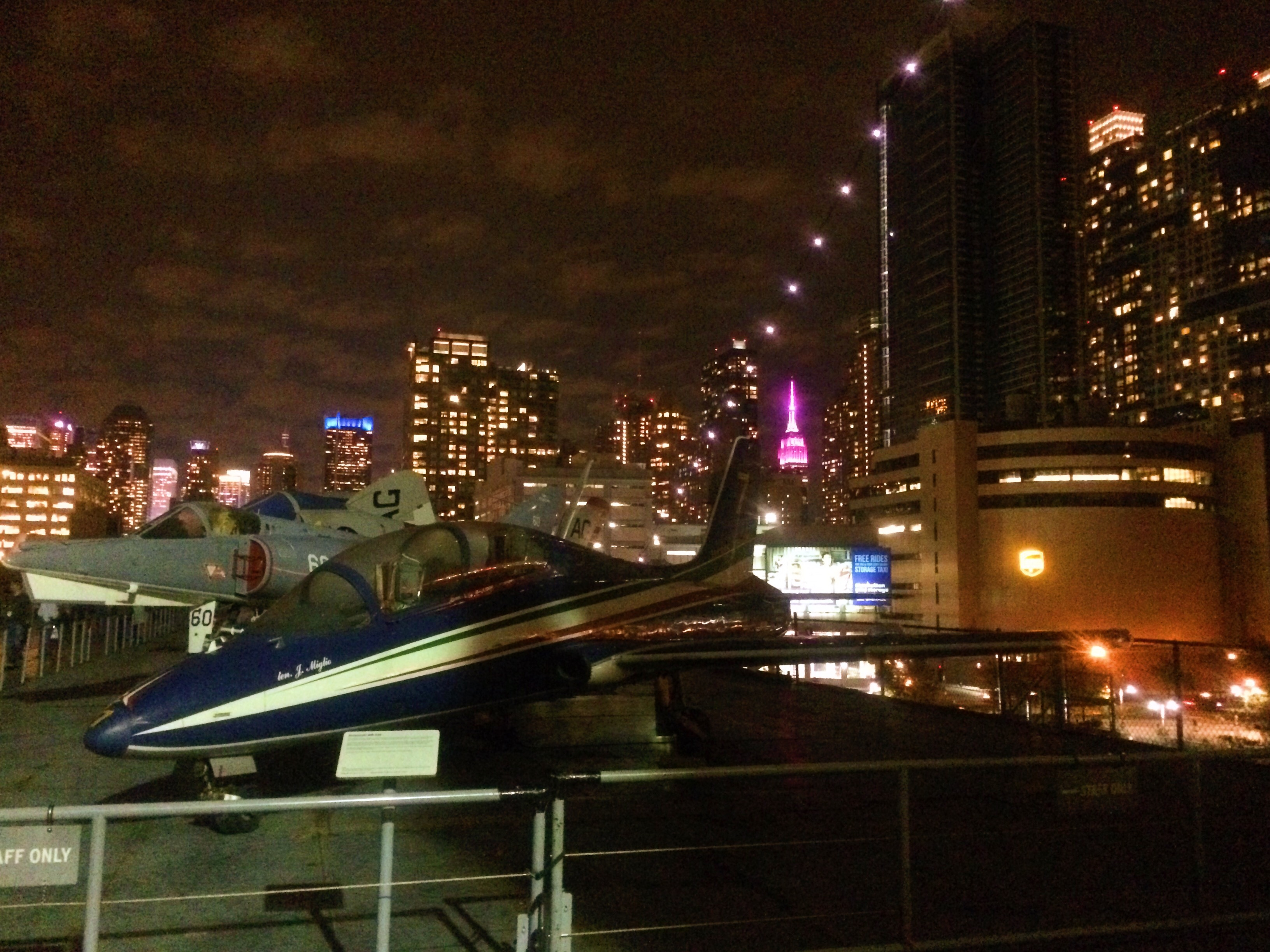 On the Deck of the Intrepid