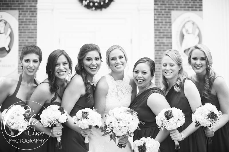 Katlyn and Her Bridesmaids