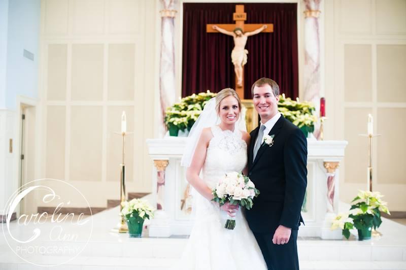 Wedding at St. Mary's