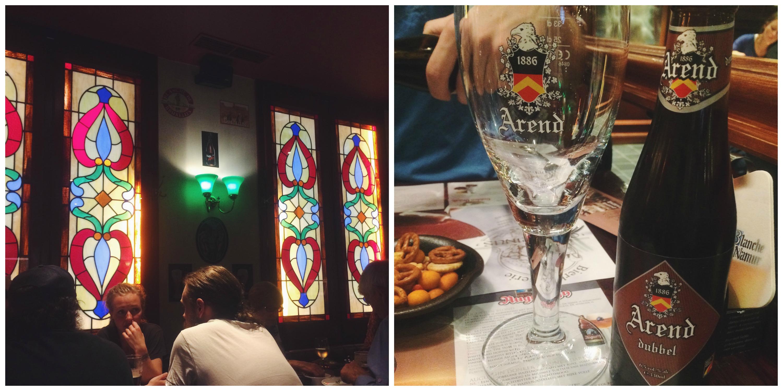Dinner in Bruges