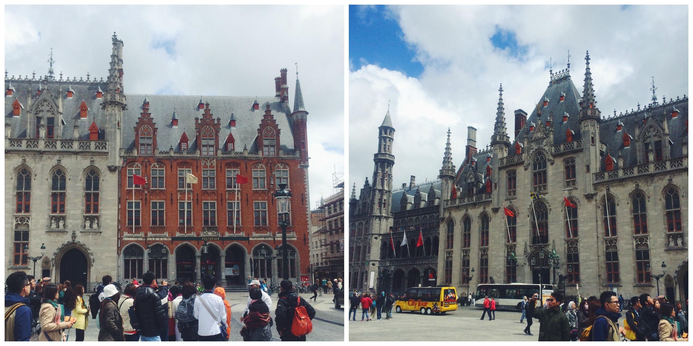 The Markt in Bruges