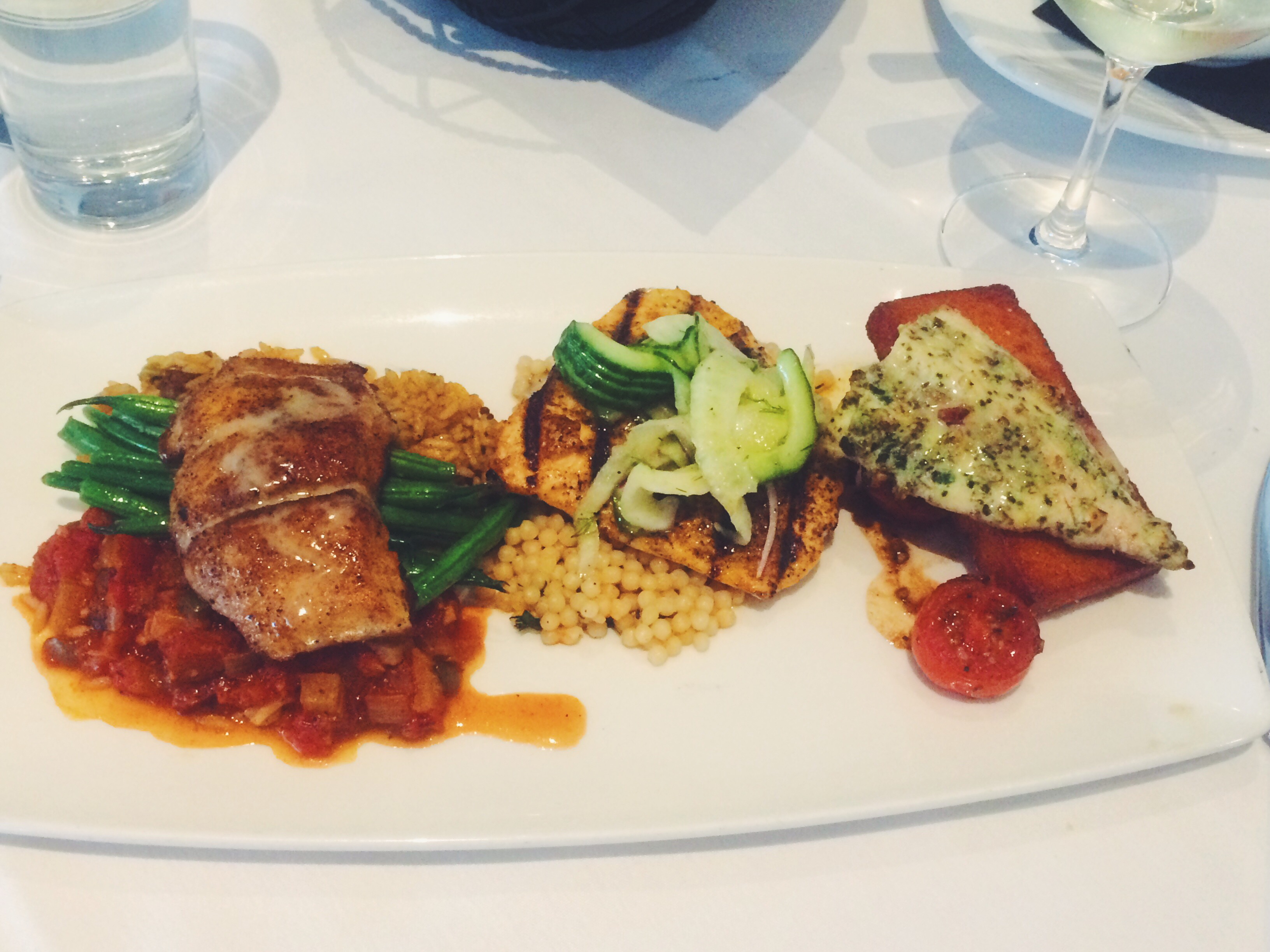 Waters Seafood Trio