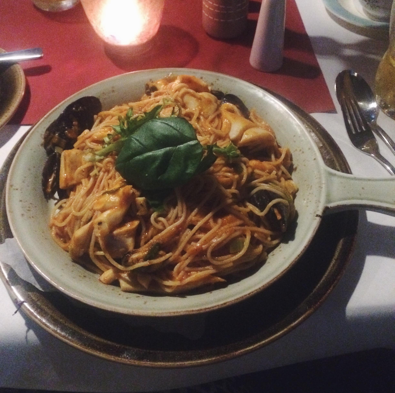 Pasta + Seafood