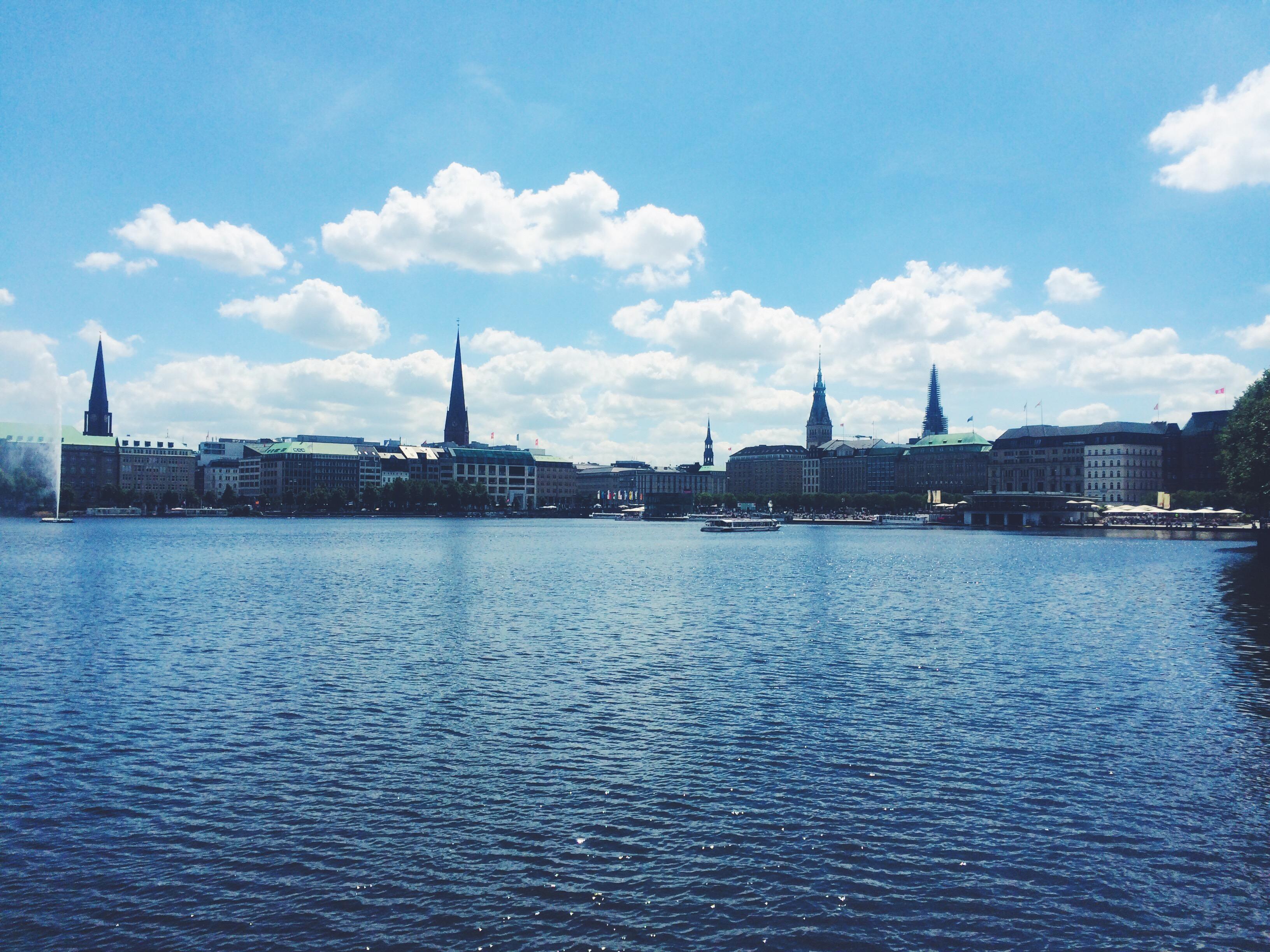 The Steeples of Hamburg