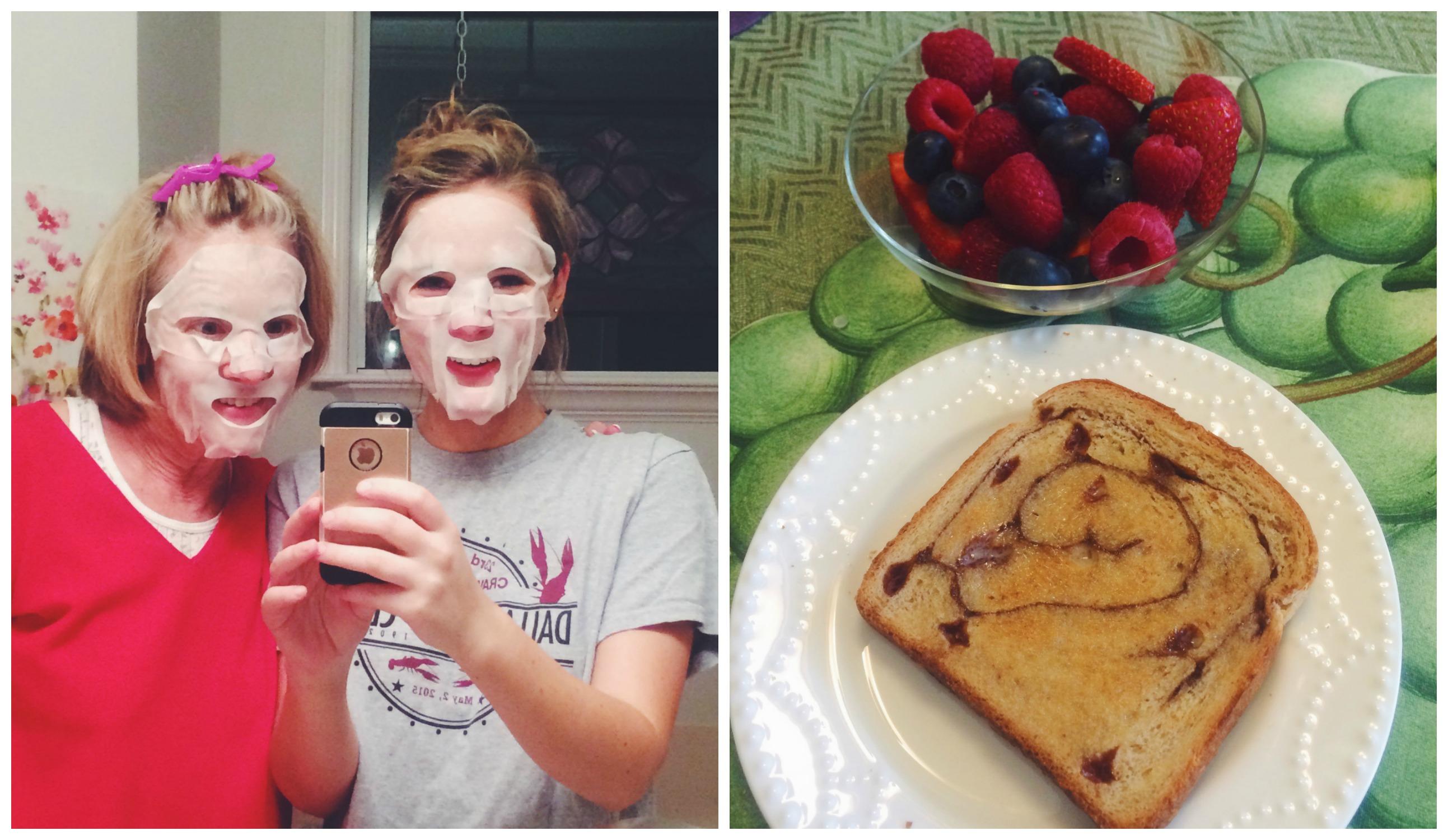 Masks + Breakfast