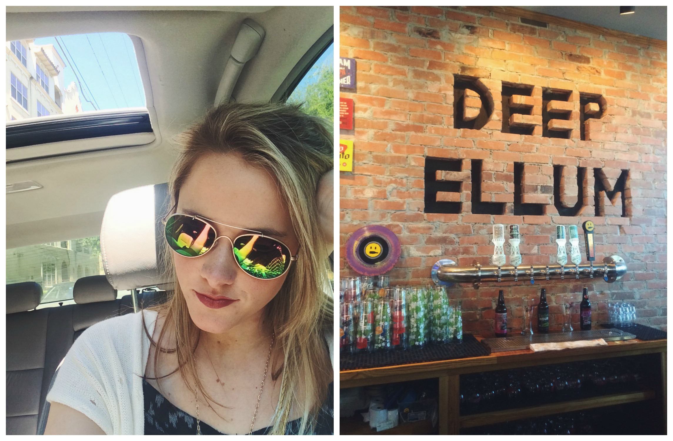 Sun Roof Weather & Deep Ellum Brewery