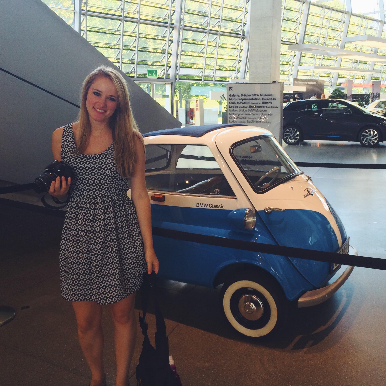 Tiny BMW!