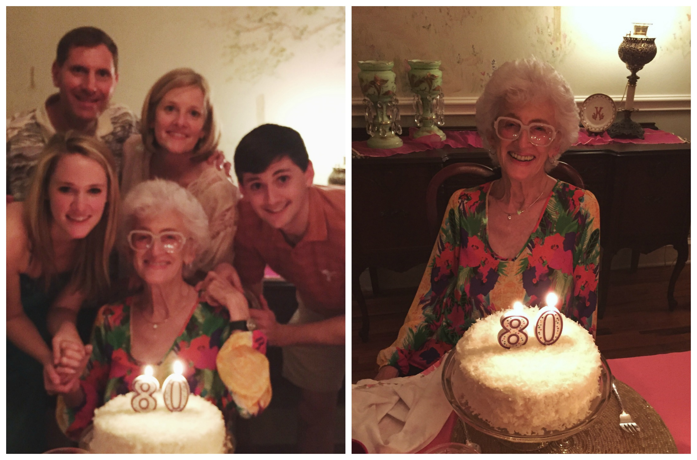 Happy 80th Birthday to Mimi!