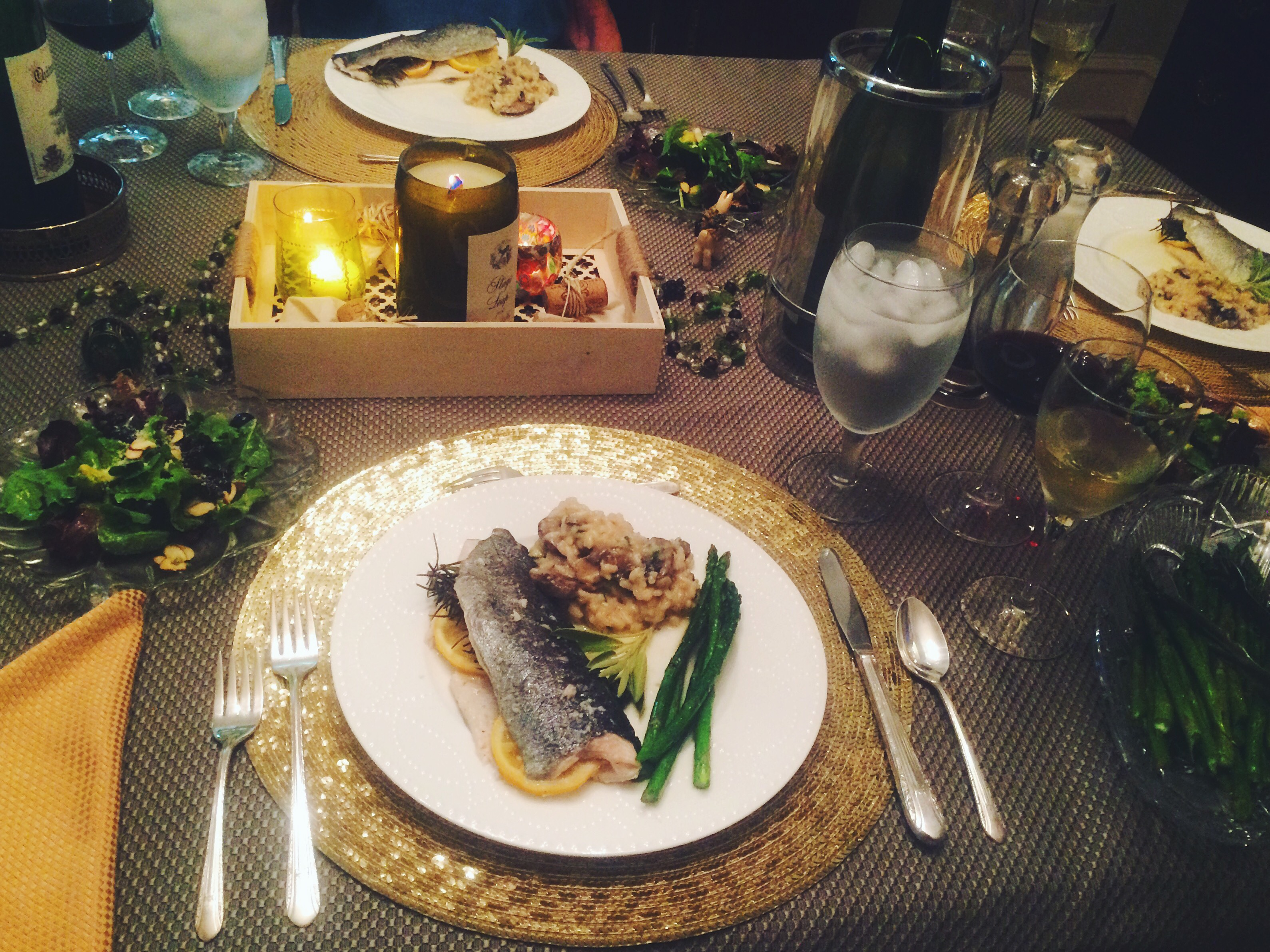 French-Inspired Meal