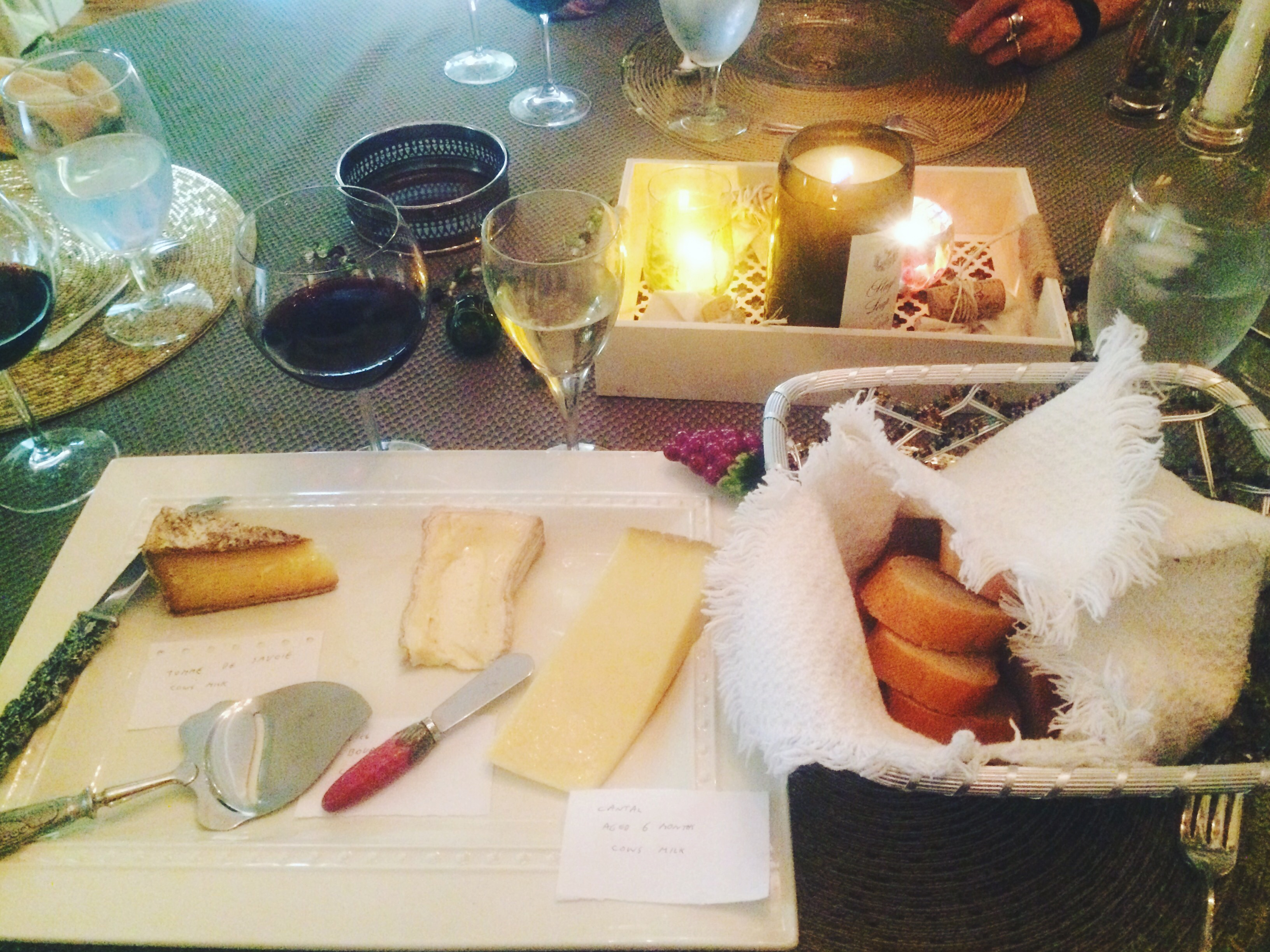 French-Inspired Meal: The Cheese Course