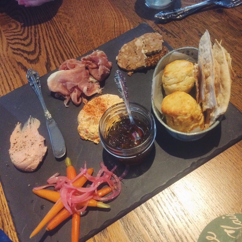 Southern Tasting Board at Ida Claire