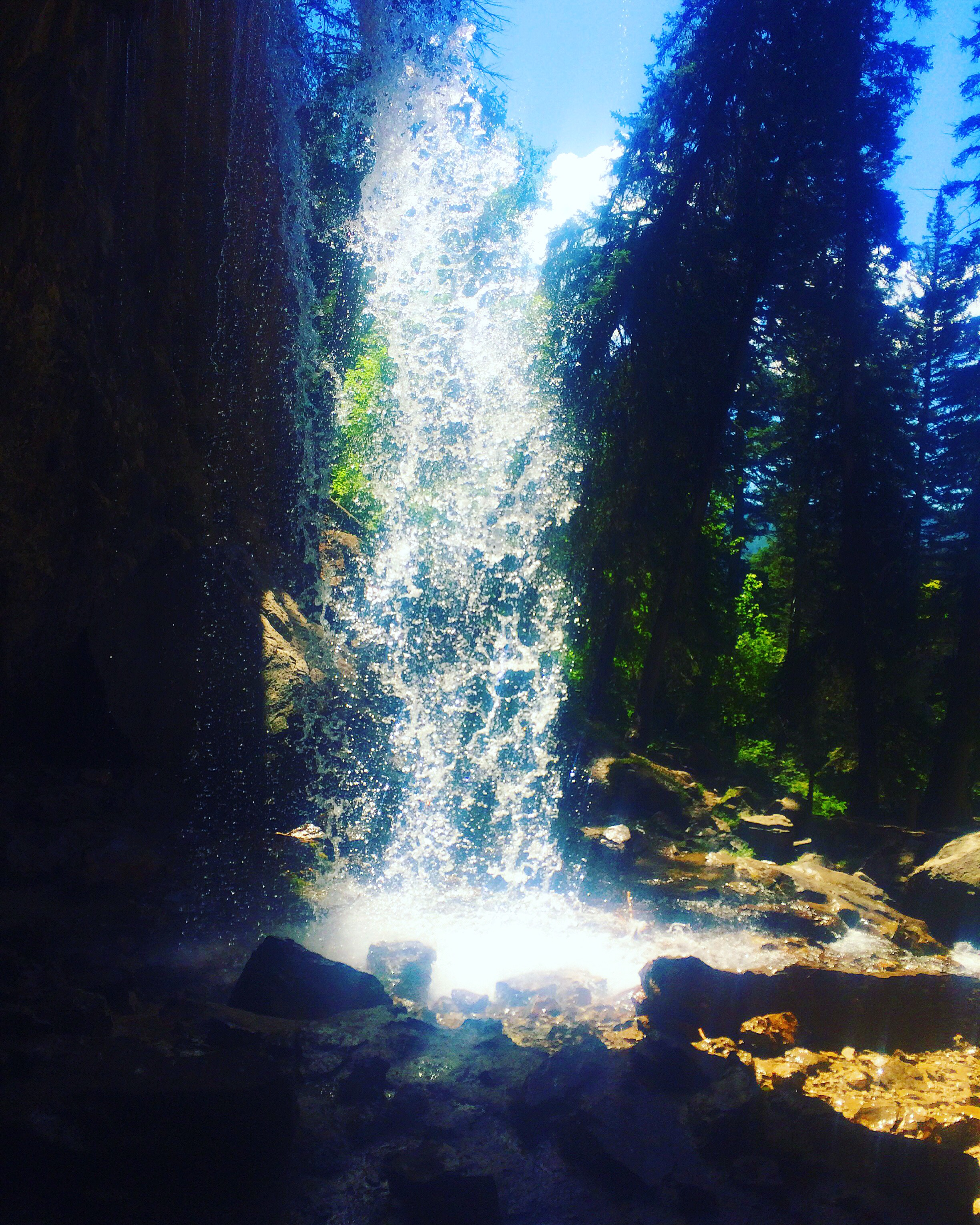 Waterfall at Hanging Lake