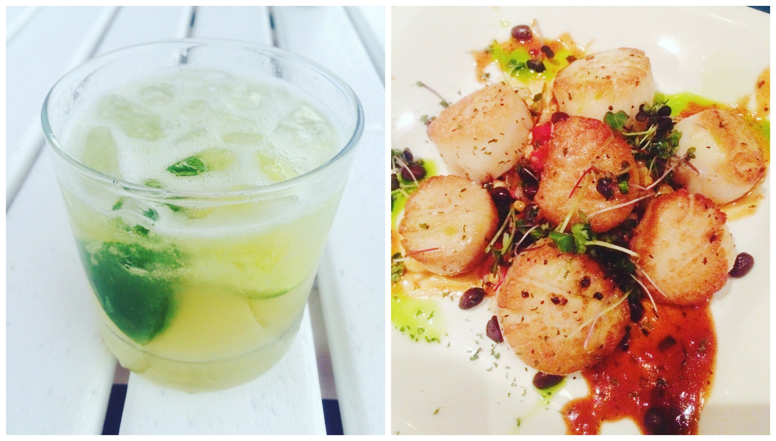 Caipirinhas and Scallops