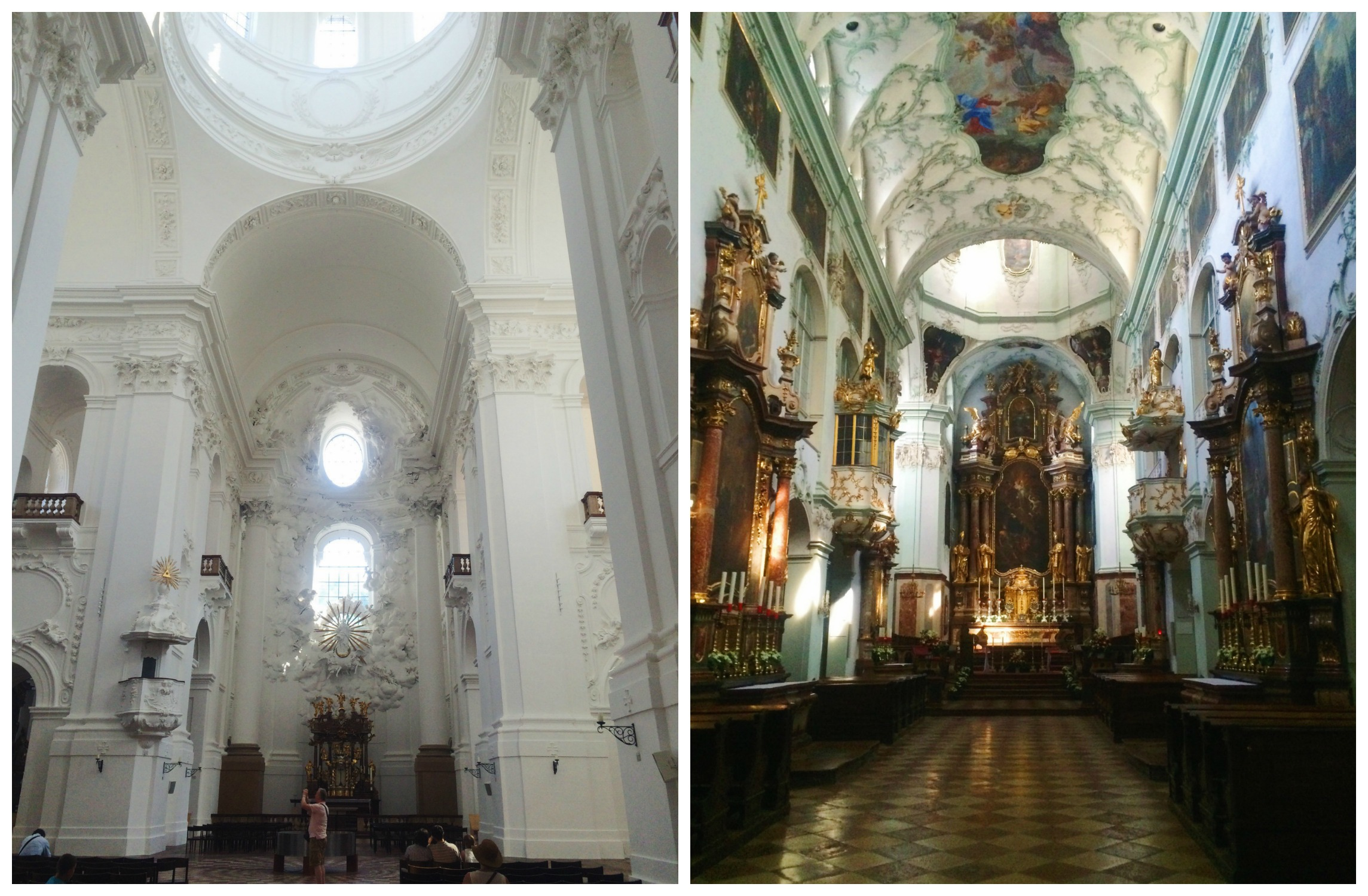 Two Salzburg Churches