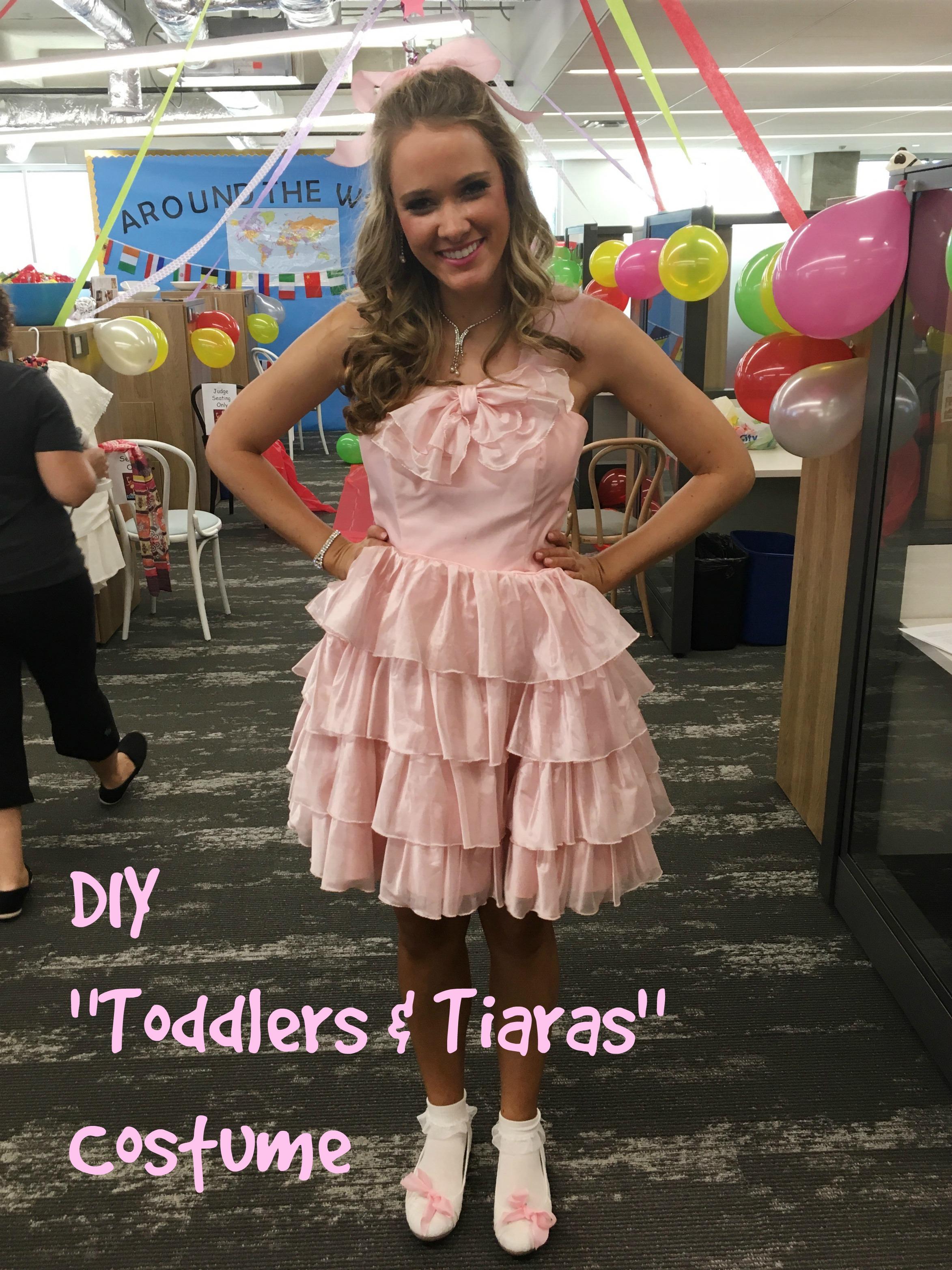 "DIY ""Toddlers & Tiaras"" Costume"