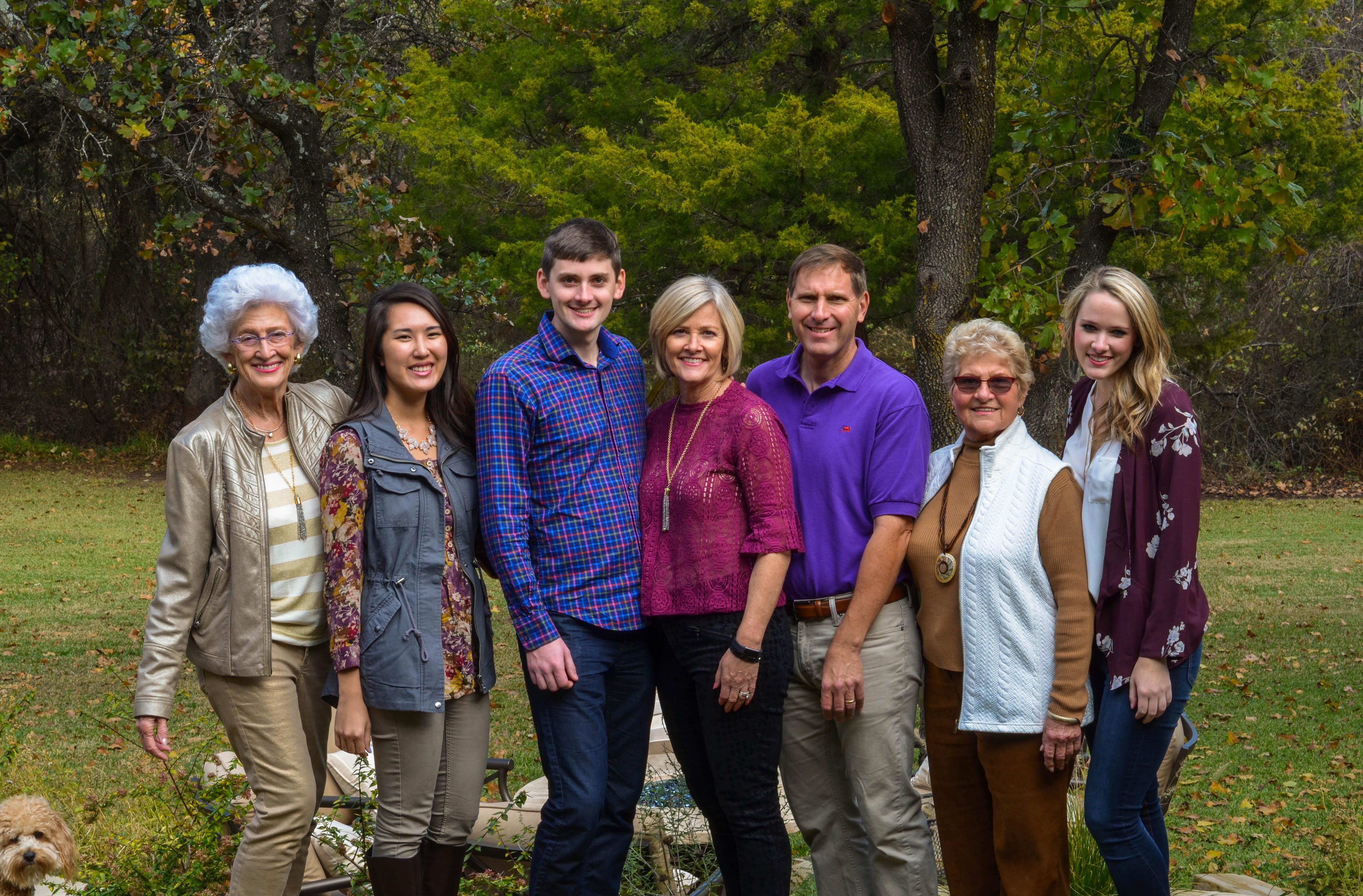 Family Photo + Shiner!