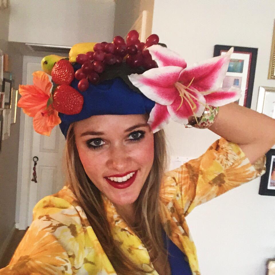Fruit Hat/Headdress How-To