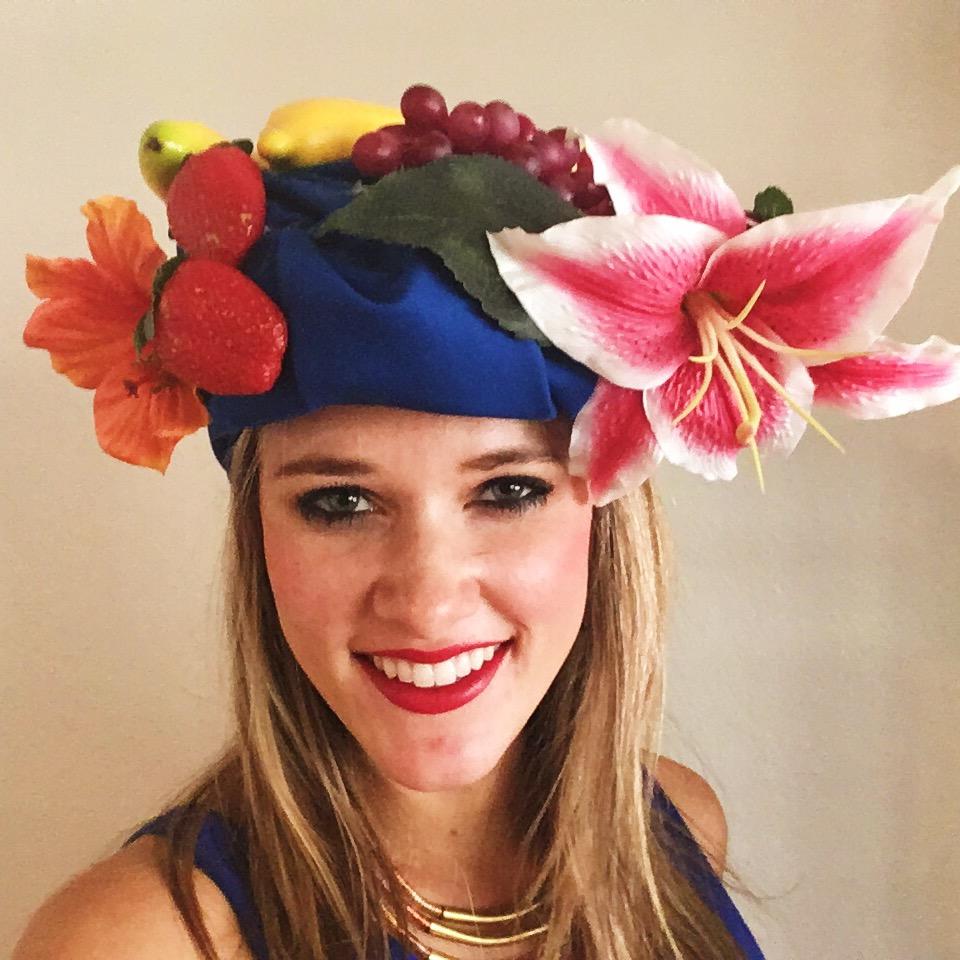DIY Fruit Headdress