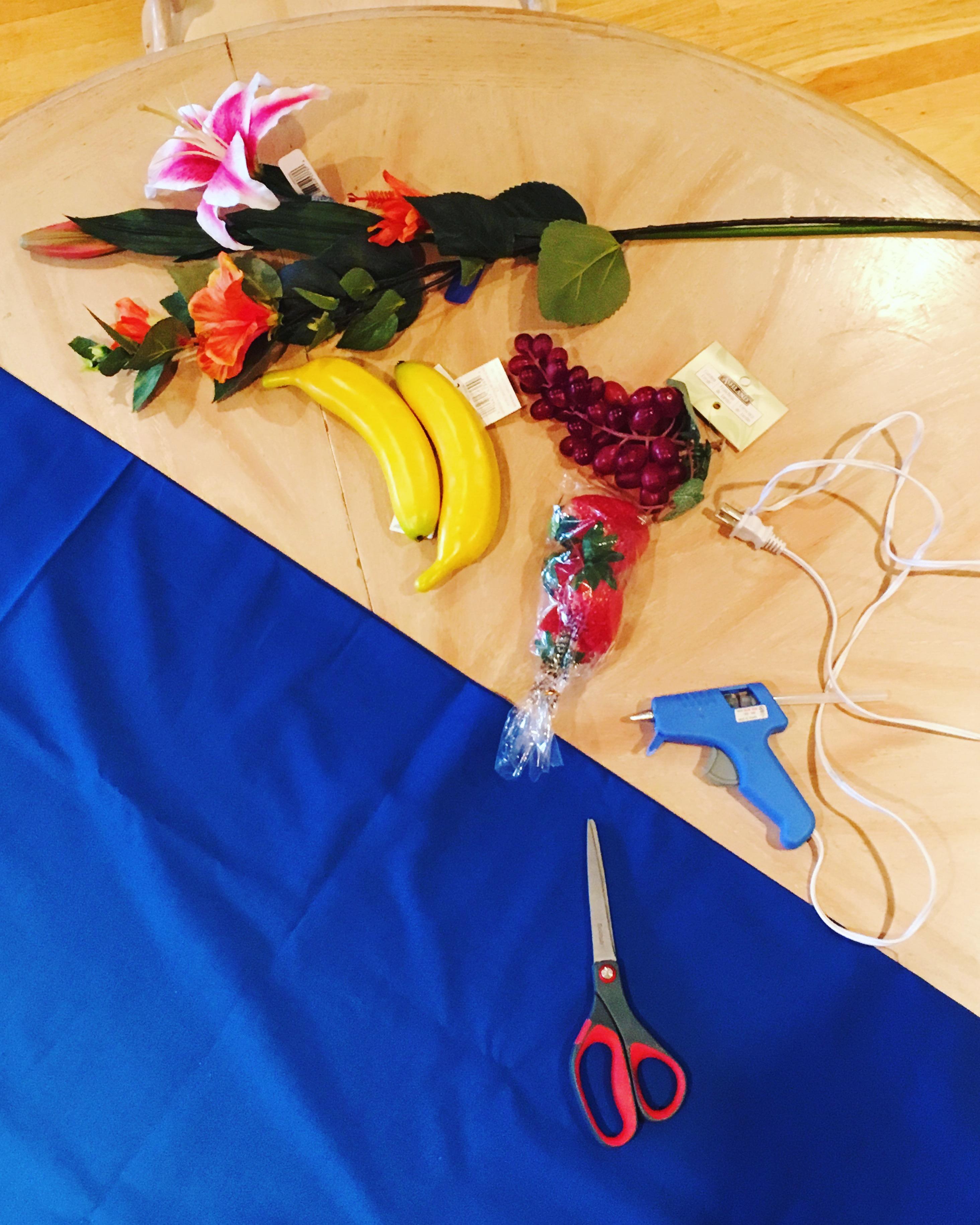 Fruit Headdress How-To