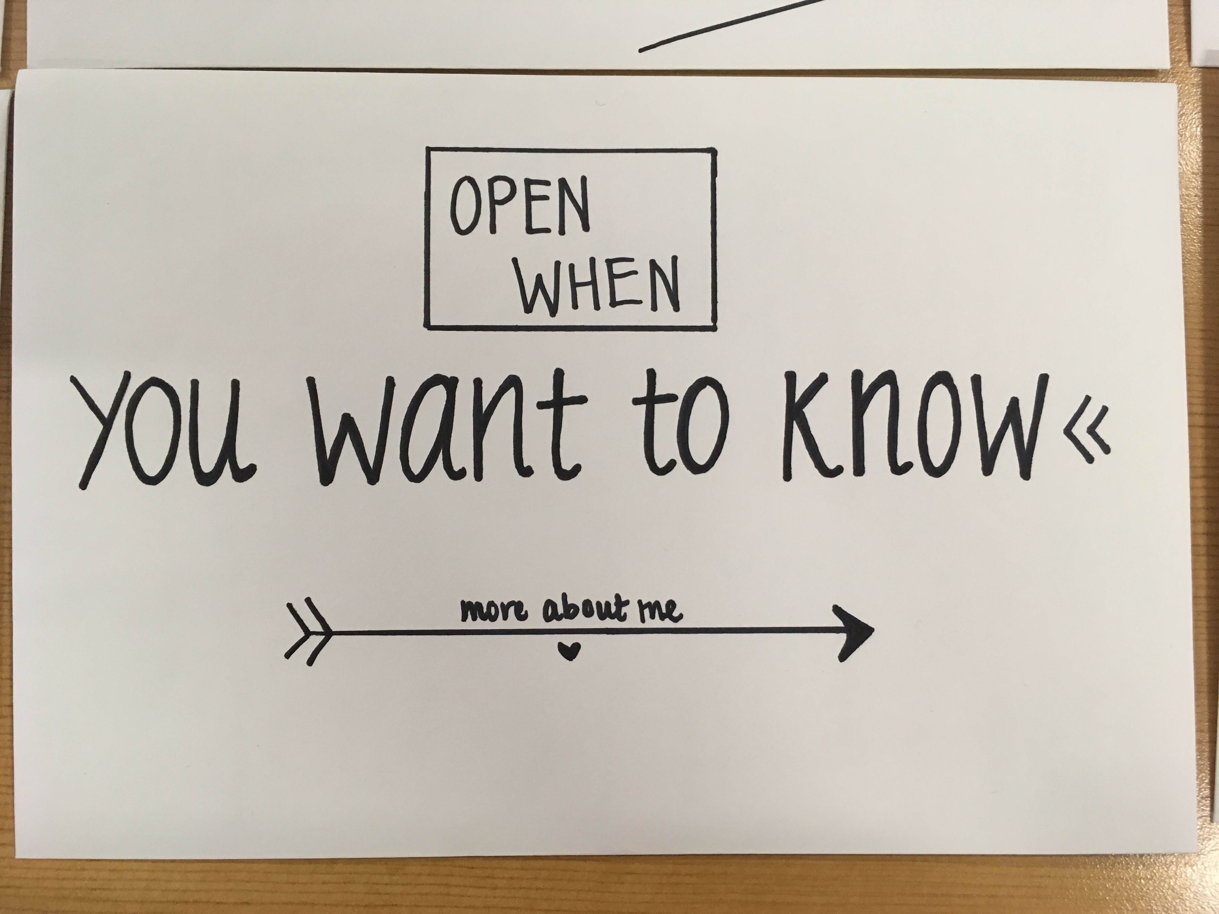 Open When Letter Examples Divingexperience